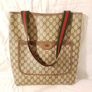 Gucci vintage authentic large tote